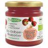 Bio Erdbeer-Rhabarber-Fruchtaufstrich